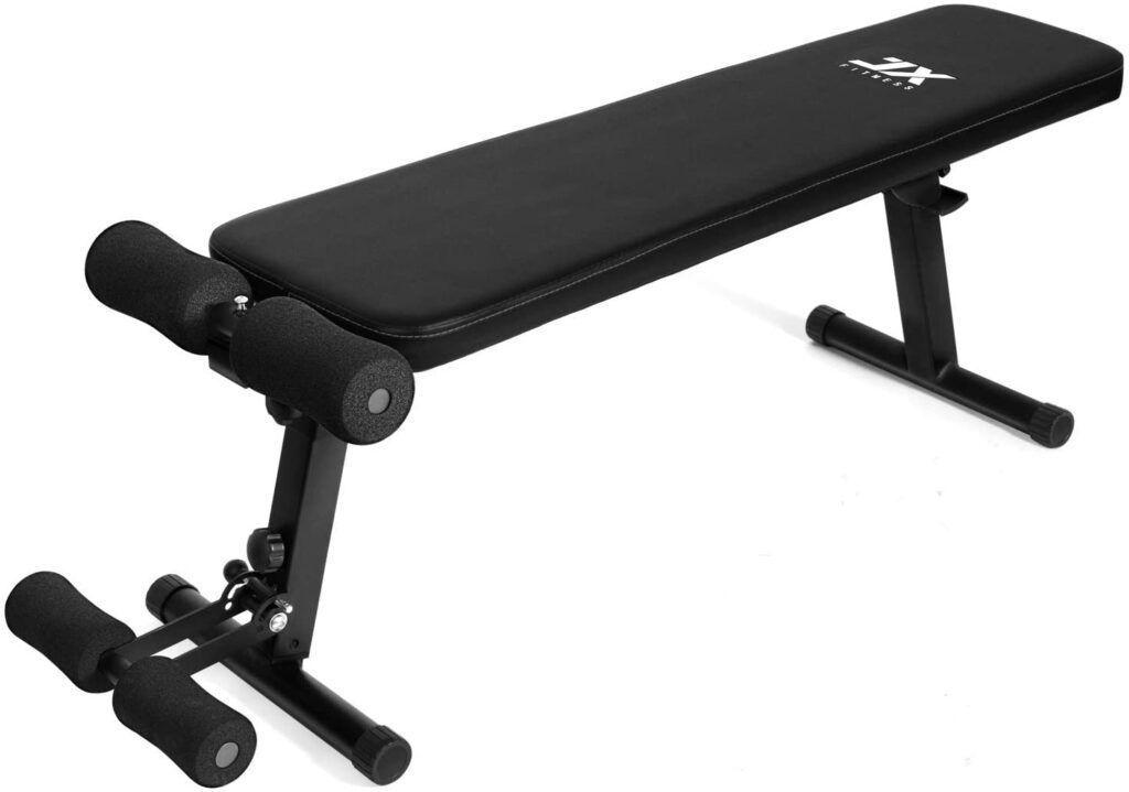 JX FITNESS Banco de Musculación Ajustable Multifuncional