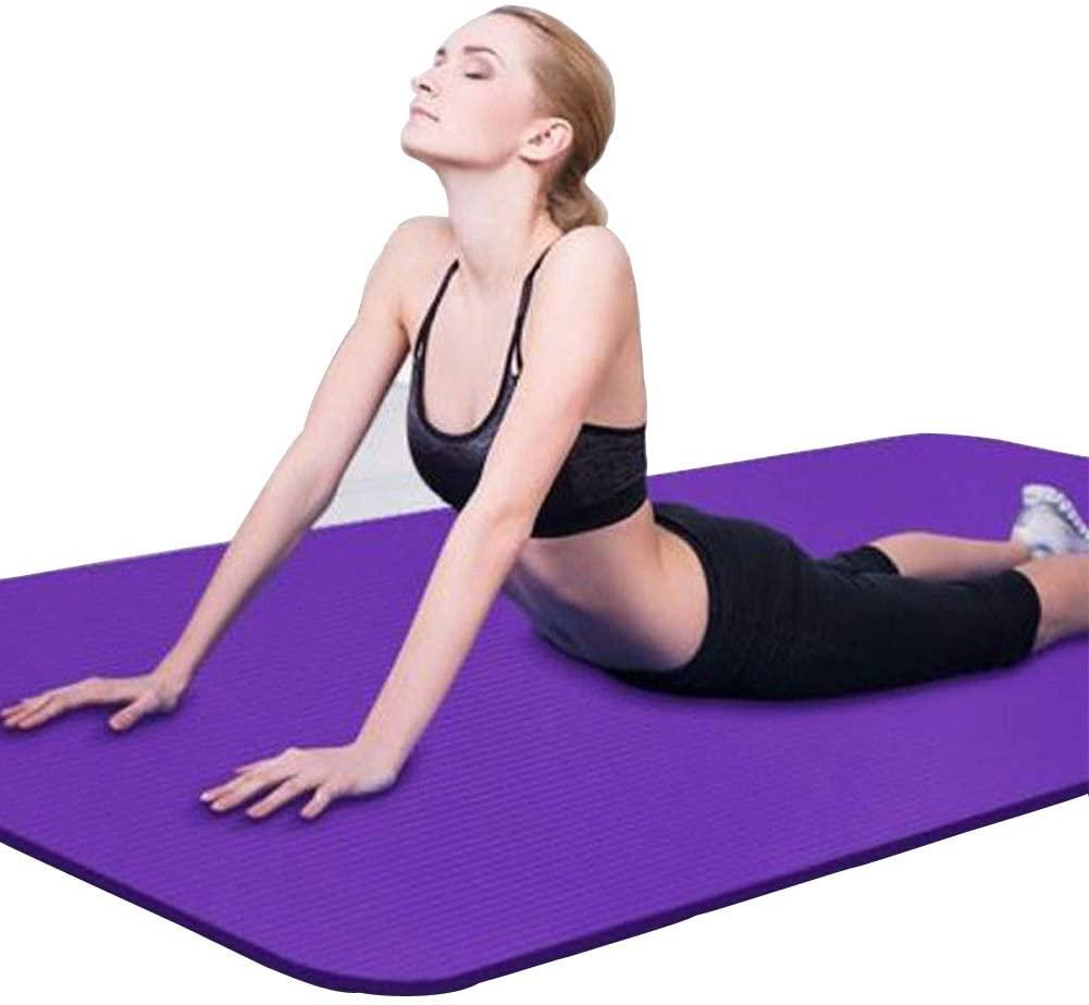 Binwwe Esterilla Yoga gruesa