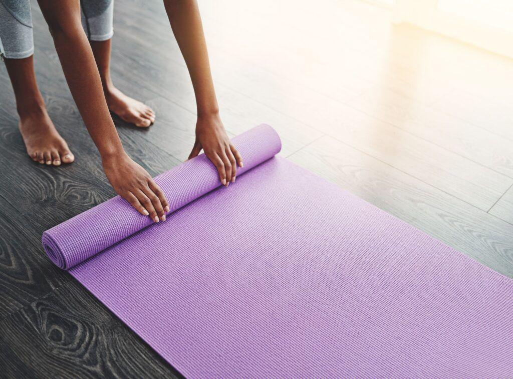 Que es una esterilla de yoga
