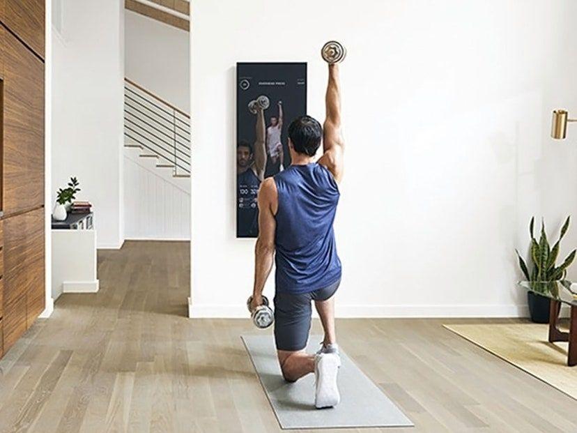 El espejo gimnasio interactivo, Mirror